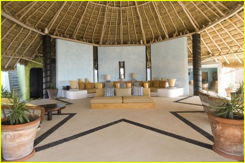 Inside the villa where Kylie and Kendall Jenner stayed in Mexico