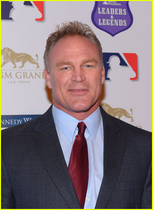 Brian Bosworth on the red carpet