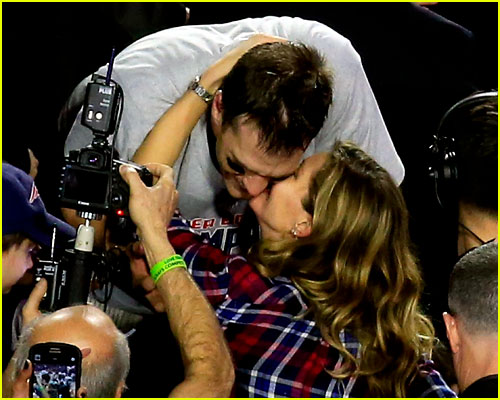 Gisele Bundchen & Tom Brady Photo