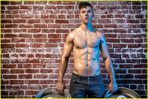 Nolan Gould shirtless