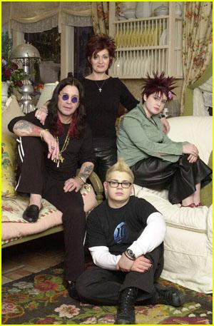 Ozzy, Sharon, Kelly and Jack Osbourne