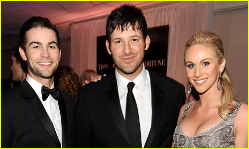 Tony Romo with Chace Crawford & Candice Crawford