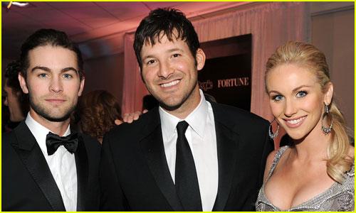 Tony Romo, Candice Crawford, & Chace Crawford Photo