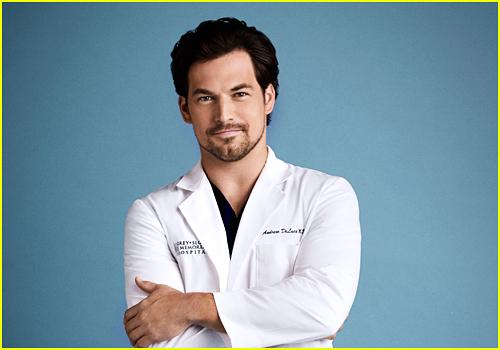 Giacomo Gianniotti as Andrew DeLuca on Grey's Anatomy