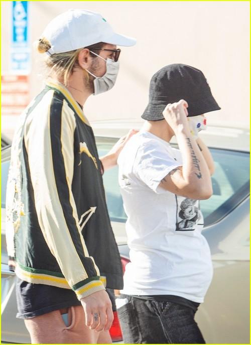 Pregnant Halsey at Urban