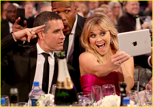 Reese Witherspoon and Jim Toth attend the 20th annual Critics' Choice Movie Awards