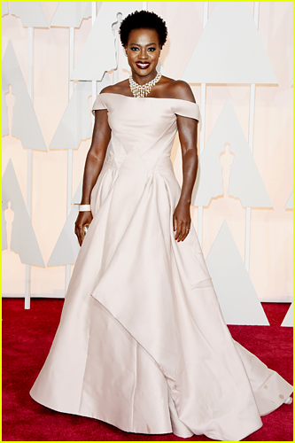 Viola Davis at the 2014 Oscars