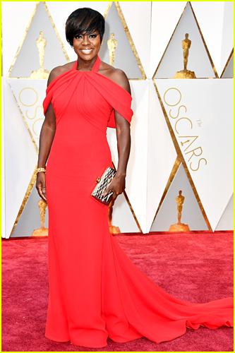 Viola Davis at the 2017 Oscars
