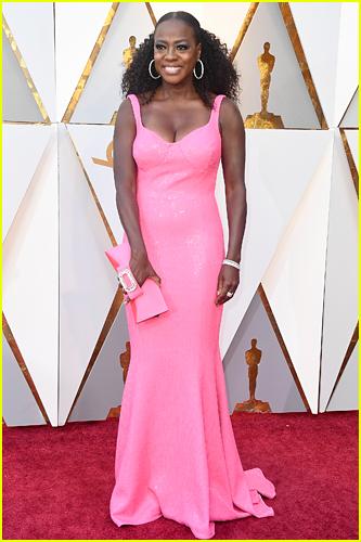 Viola Davis at the 2018 Oscars