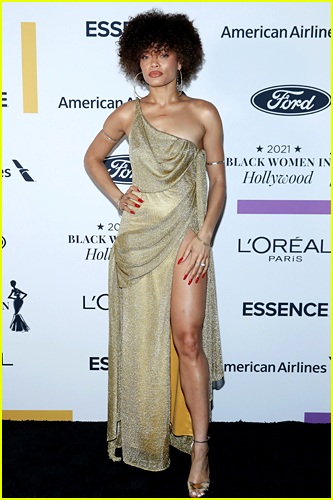 Andra Day at Essence Black Women in Hollywood Event