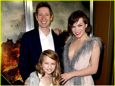 Ever Anderson with famous parents