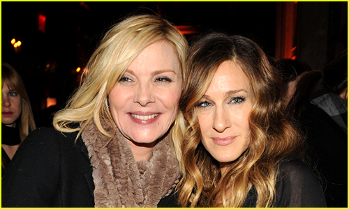 Kim Cattrall and Sarah Jessica Parker photo