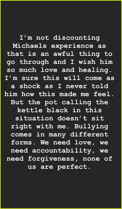Leona Lewis writes her experience with Michael Costello