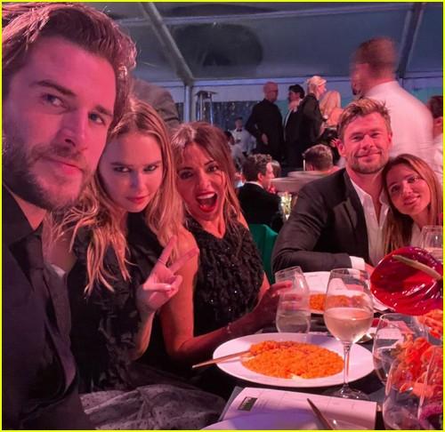 Liam & Gabriella selfie
