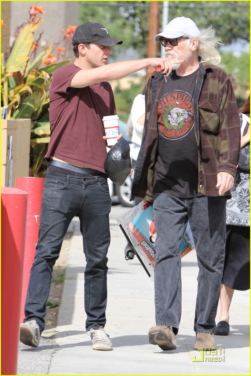 Is shia father who labeouf Christy Carlson