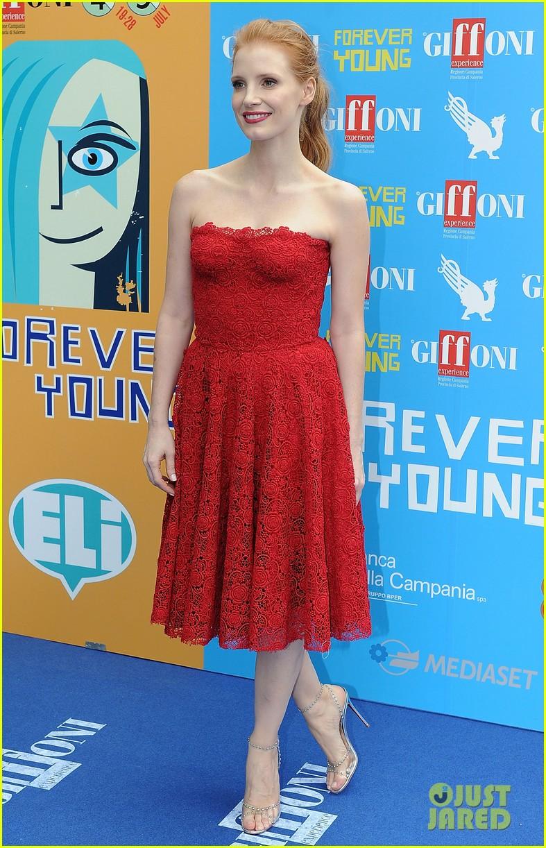 Jessica Chastain Giffoni Film Festival 21 Honoree Photo ...