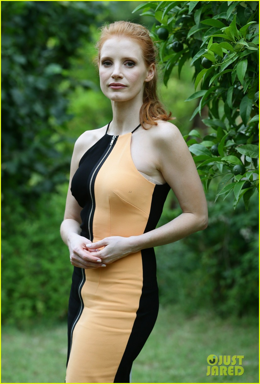 Jessica Chastain Giffoni Film Festival Portrait Session Photo ...