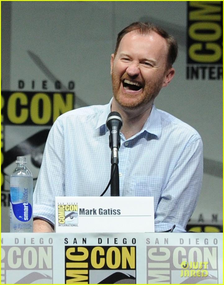 matt smith doctor who panel at comic con 132914141