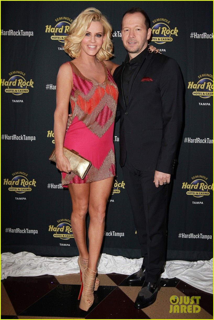 Donnie wahlbergs wife who is Kimberly Fey: