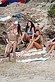 leonardo dicaprio continues st barts trip surrounded by women 40