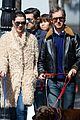 Photo 4 of Anne Hathaway & Adam Shulman Walk the Dogs After 'Lip Sync Battle' Airs