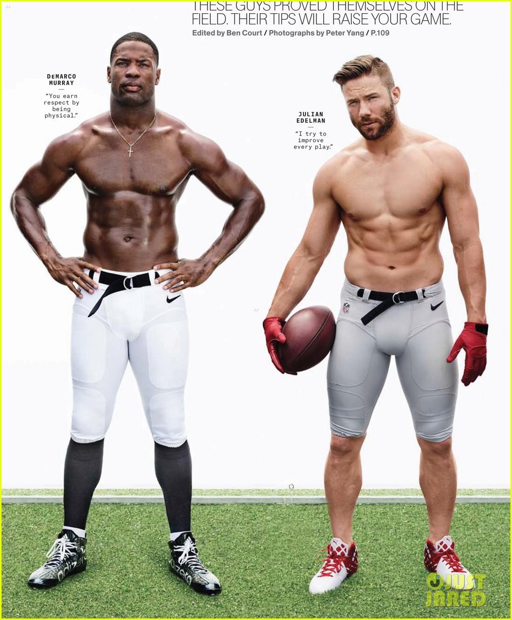 NFL Superstar J.J. Watt Is Shirtless & Ripped for Mens