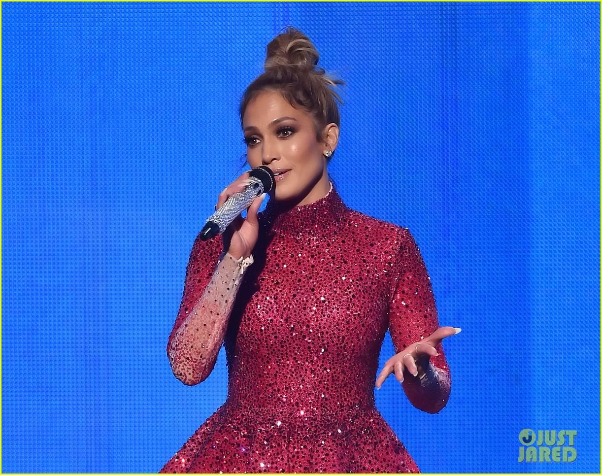 Jennifer Lopez dazzles AMAs with 10 epic costume changes