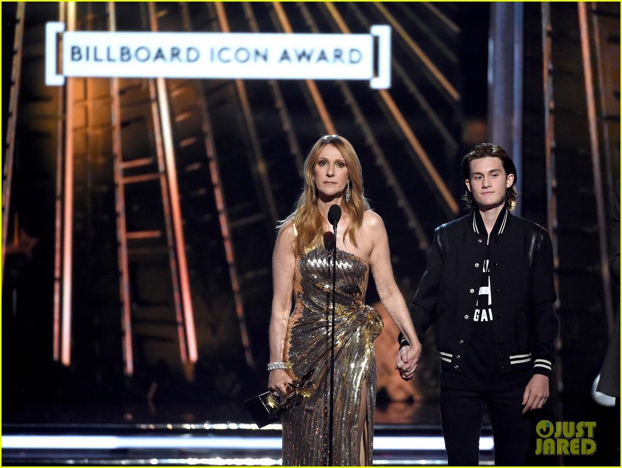 celine dion son rene charles angelil billboard music awards 2016 06