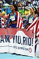 team usas allyson felix wins her sixth gold in womens 4x400 relay 05