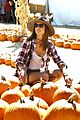 Photo 10 of Alessanda Ambrosio Gets Ready for Fall at the Pumpkin Patch With Her Kids!