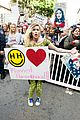 Photo 26 of Miley Cyrus, Gina Rodriguez, & Barbra Streisand Stand Together at Women's March