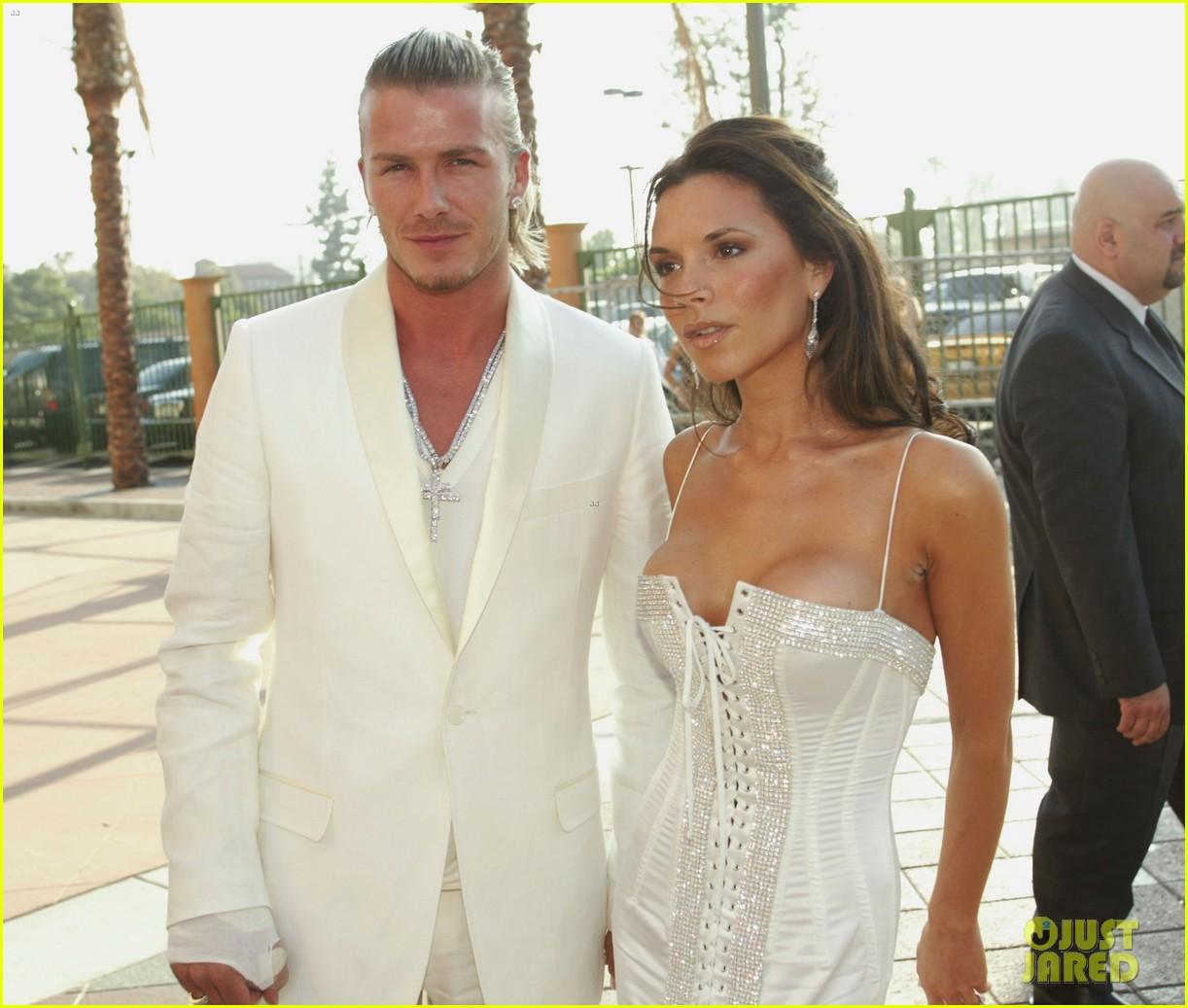 David & Victoria Beckham Share Sweet Throwback Photos on