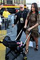 conor mcgregor arrives for fight with his girlfriend son 01