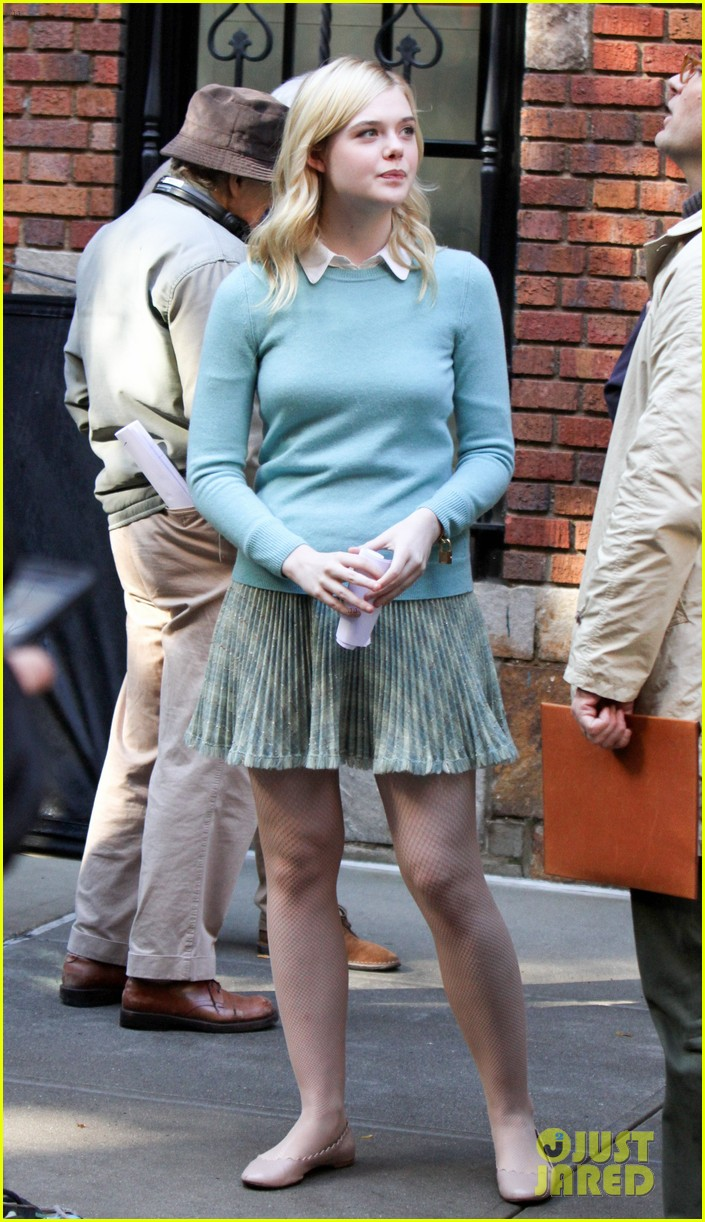 elle fanning jude law and rebecca hall film woody allen movie in nyc 023974723