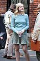 Photo 4 of Elle Fanning, Jude Law, & Rebecca Hall Film Woody Allen Movie in NYC