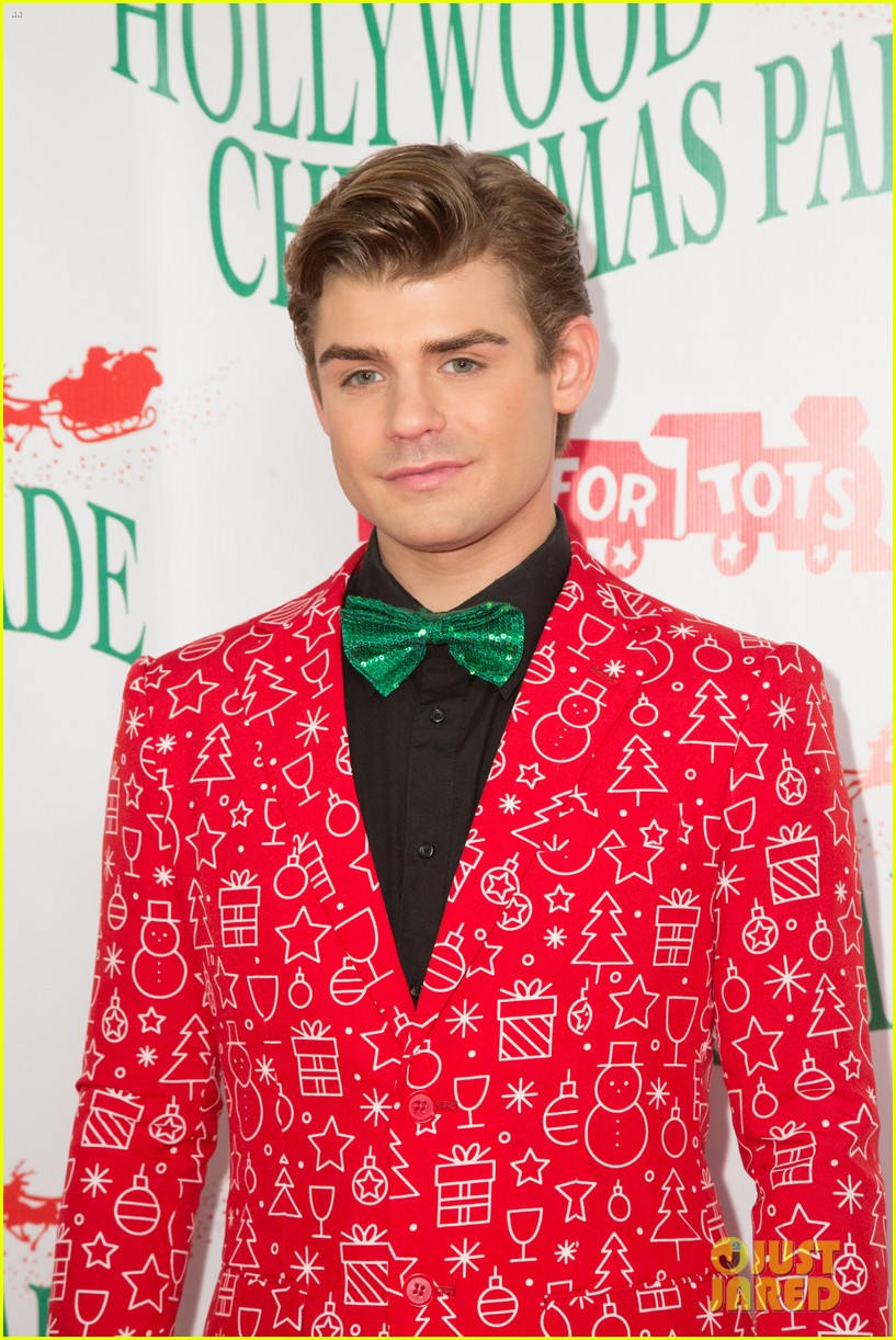 garrett clayton ceelo green more step out for hollywood christmas parade 2017 023992747