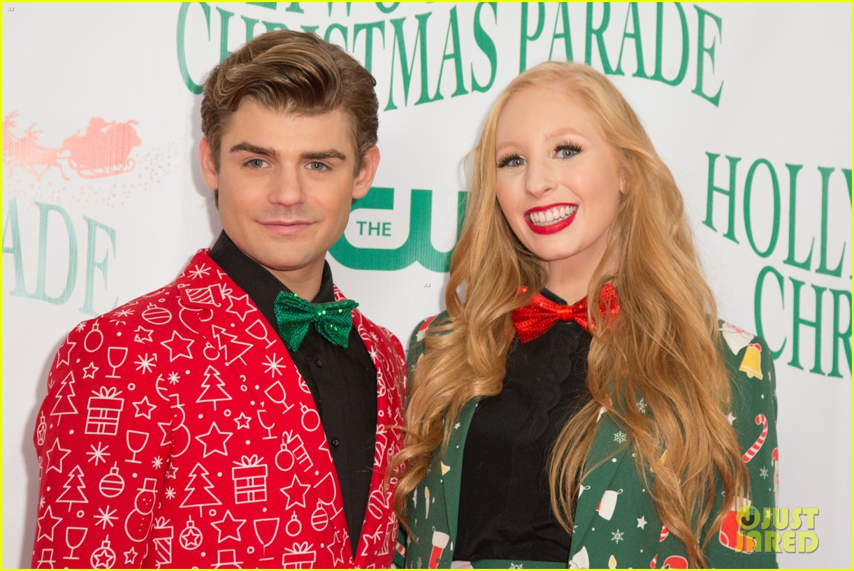 garrett clayton ceelo green more step out for hollywood christmas parade 2017 113992756