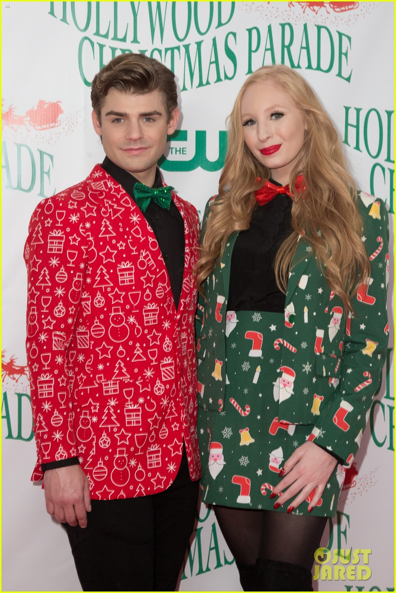 garrett clayton ceelo green more step out for hollywood christmas parade 2017 123992757