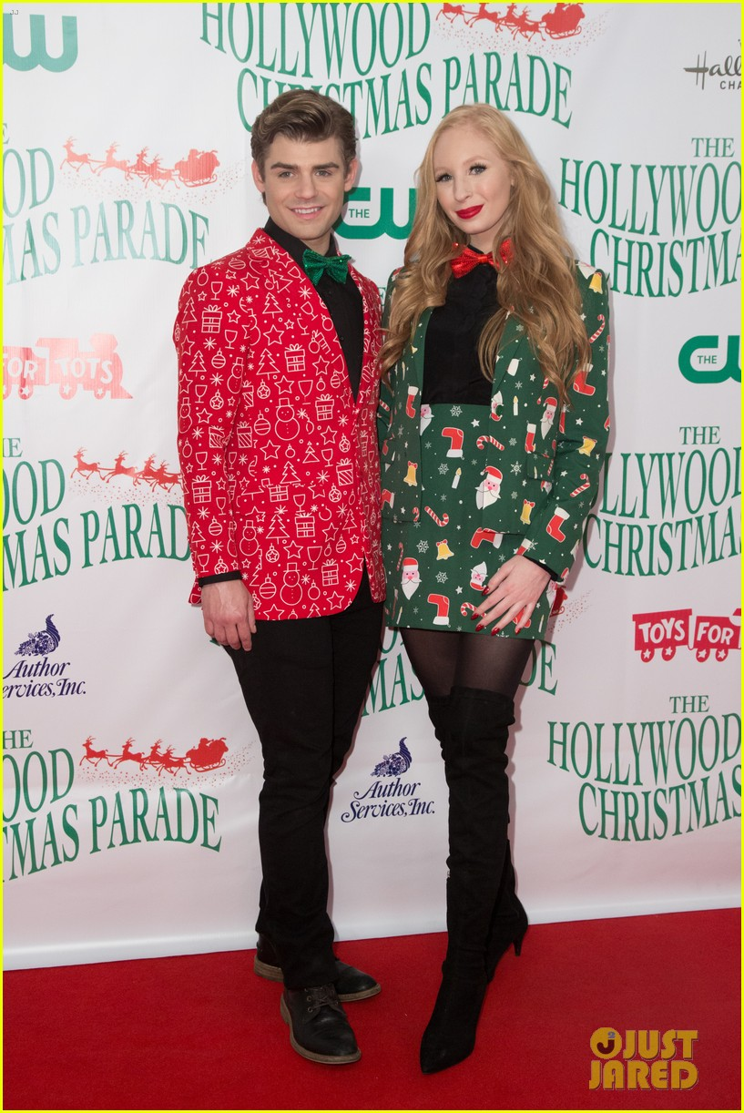 garrett clayton ceelo green more step out for hollywood christmas parade 2017 133992758