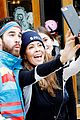 darren criss and fiancee mia swier hit the slopes for operation smile 04