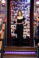 lucy hale enjoys corn dogs with reba mcentire james corden 02