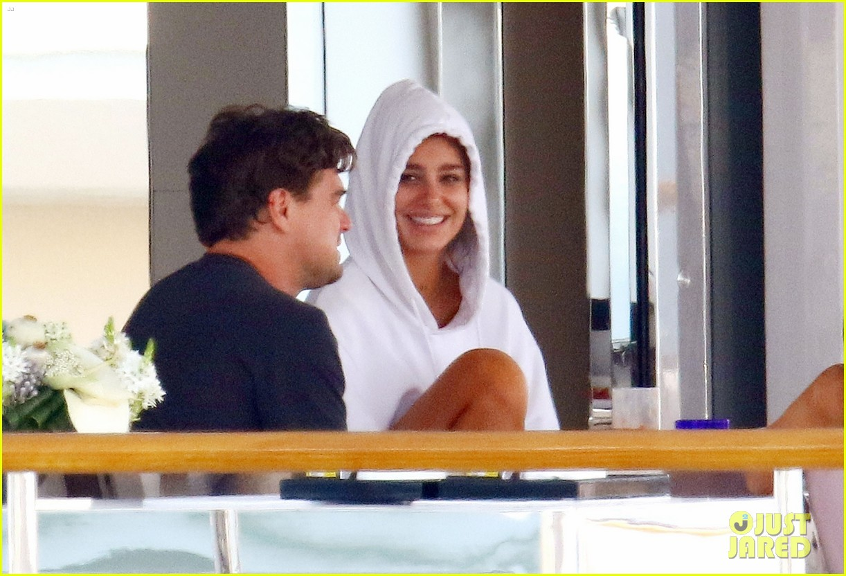 leonardo dicaprio relaxes on a yacht with camila morrone 164123200
