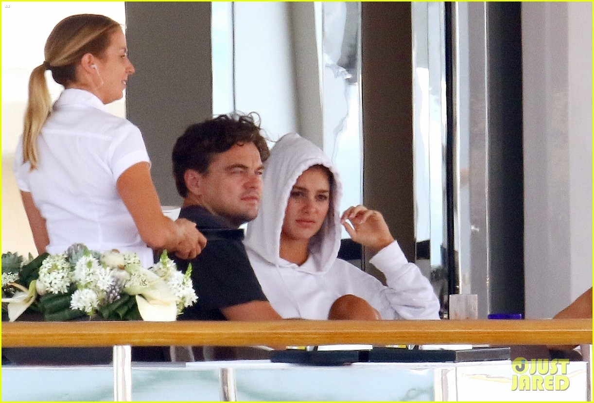 leonardo dicaprio relaxes on a yacht with camila morrone 214123205