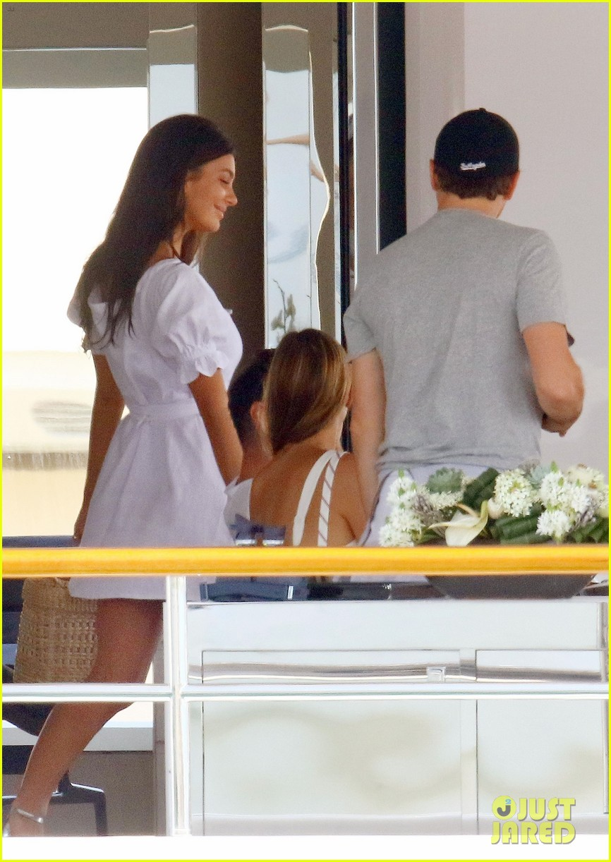 leonardo dicaprio relaxes on a yacht with camila morrone 284123212
