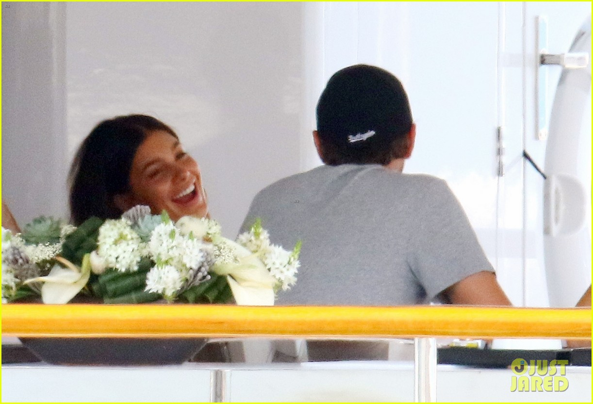 leonardo dicaprio relaxes on a yacht with camila morrone 554123239