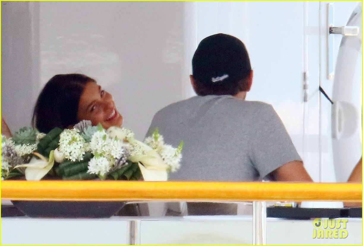 leonardo dicaprio relaxes on a yacht with camila morrone 564123240