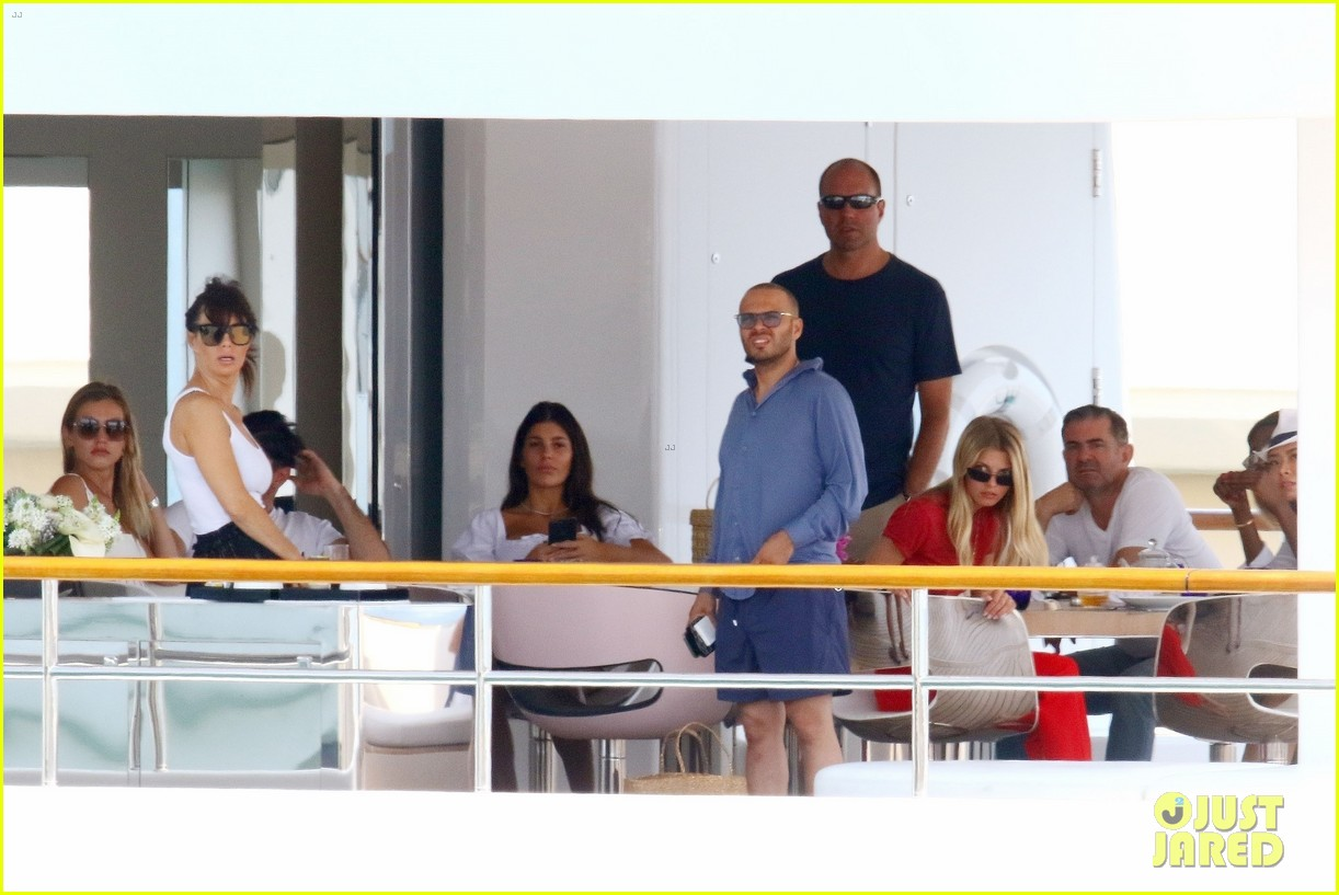 leonardo dicaprio relaxes on a yacht with camila morrone 594123243