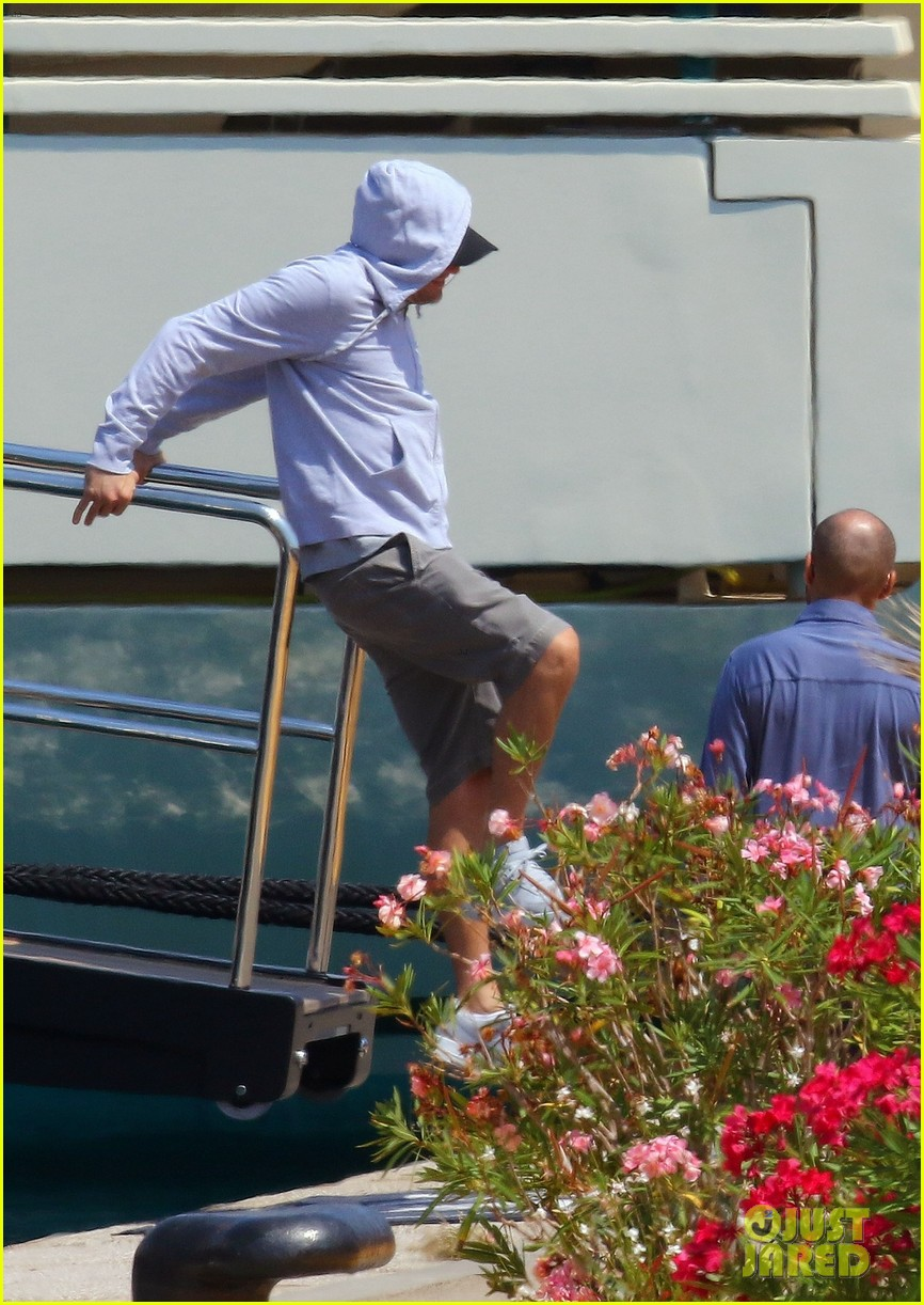 leonardo dicaprio relaxes on a yacht with camila morrone 624123246