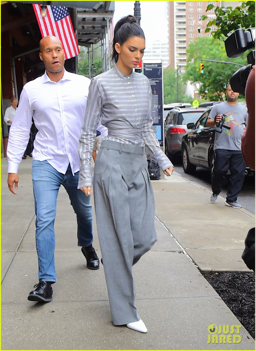 kendall jenner nyc  october 2018 054163100