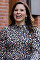sophia bush ilana glazer share a laugh on false positive set 02